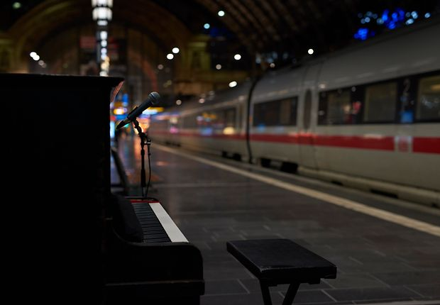 Set der trainsome session im Frankfurt am Main Hbf